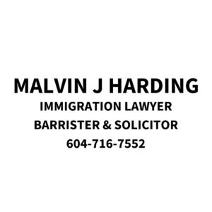 Malvin J HardingImmigration LawyerBarrister & Solicitor (3)